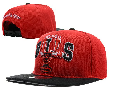 Chicago Bulls NBA Snapback Hat SD09